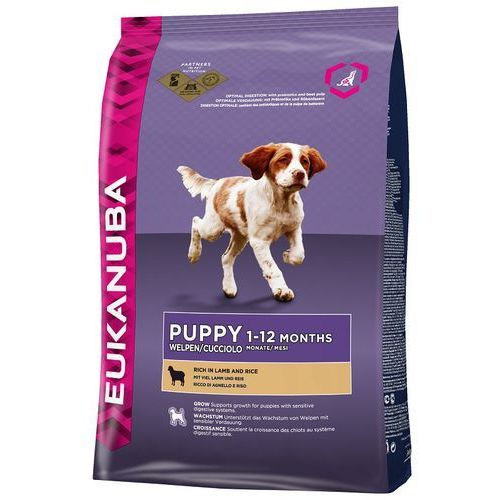 Eukanuba puppy & junior rich in lamb & rice 2,5kg (0190142313790)