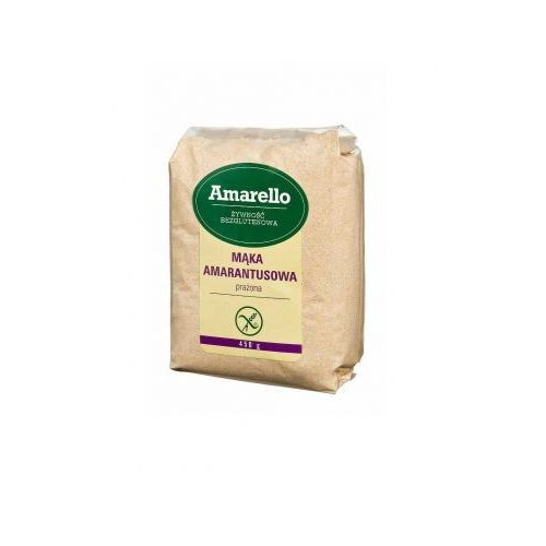 PROMOCJA Mąka amarantusowa bezglutenowa prażona BIO 300 g Amarello (5903548000134)
