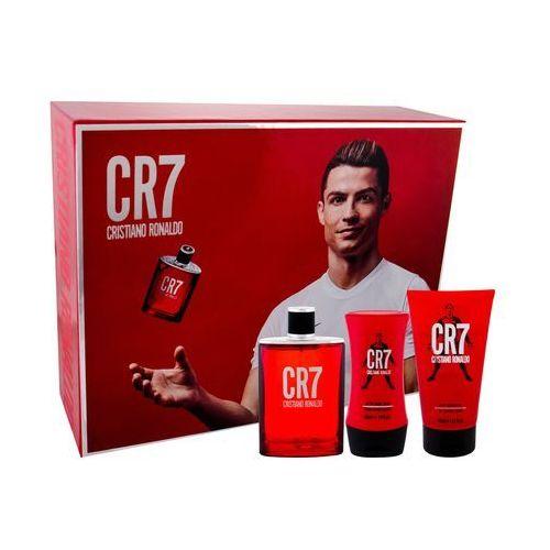 cr7 zestaw edt 100 ml + żel pod prysznic 150 ml + balsam po goleniu 100 ml dla mężczyzn marki Cristiano ronaldo