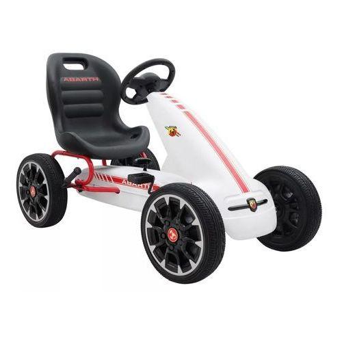 Hecht czechy Hecht abarth white fiat gokart jeździk z napędem na pedały zabawka samochód dla dziecii - ewimax oficjalny dystrybutor - autoryzowany dealer hecht (8595614917834)