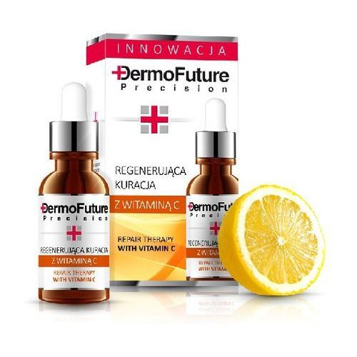- repair therapy with vitamin c - intensywnie regenerująca kuracja z witaminą c - 20 ml marki Dermofuture