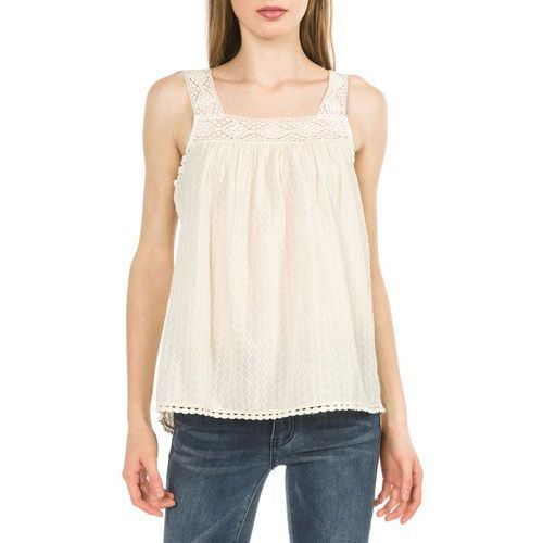 Pepe Jeans Azahar Top Beżowy XS (8434341490237)