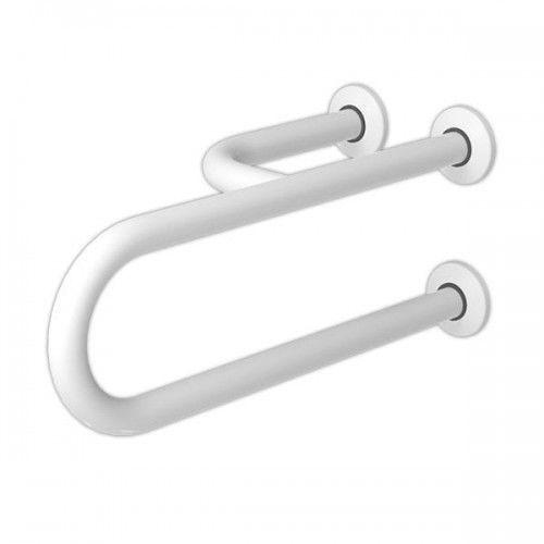 Poręcz dla niepełnosprawnych umywalkowa lewa 50 cm, fi 32 cm marki Makoinstal