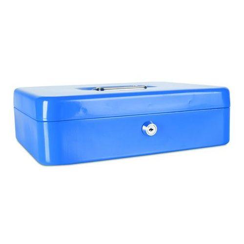Kasetka na pieniądze , ekstra duża, 300x90x240mm, niebieska marki Donau
