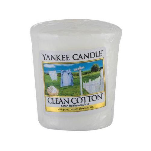 Yankee candle clean cotton 49 g świeczka zapachowa