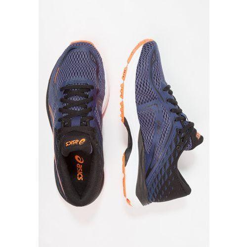 OKAZJA - ASICS GELCUMULUS Obuwie do biegania treningowe indigo blue/black/shocking orange, C742N