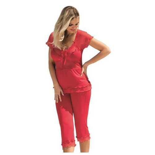 Dkaren tania czerwona piżama damska