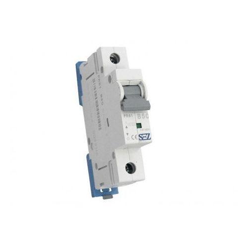 Pce B50a 1p 10ka wyłącznik nadprądowy bezpiecznik typ s eska pr61 sez 0142 (8585009000142)