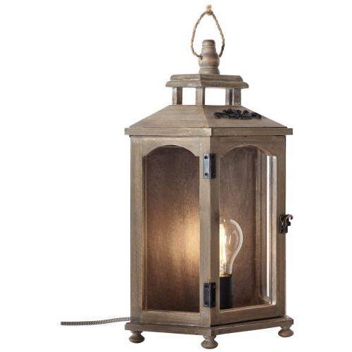 Brilliant Skylar Lampa stołowa Brązowy, 1-punktowy - Vintage - Obszar wewnętrzny - Skylar - Czas dostawy: od 6-10 dni roboczych