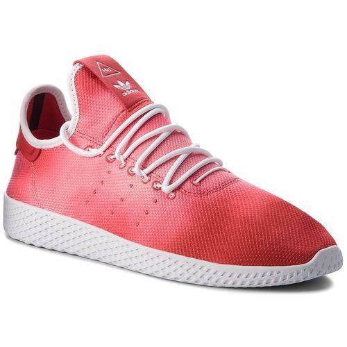 Buty - pw hu holi tennis hu da9615 scarle/ftwwht/ftwwht marki Adidas