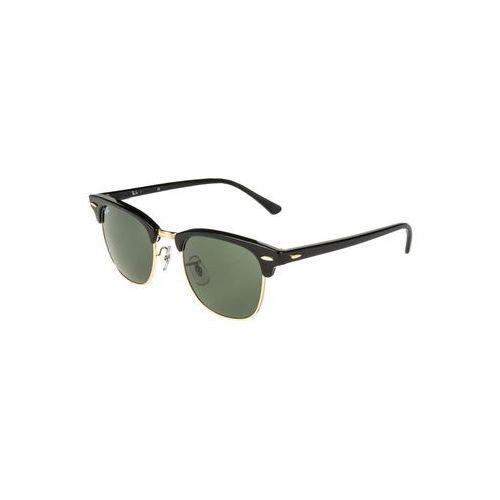 RayBan CLUBMASTER Okulary przeciwsłoneczne schwarz/goldfarben, 0RB3016
