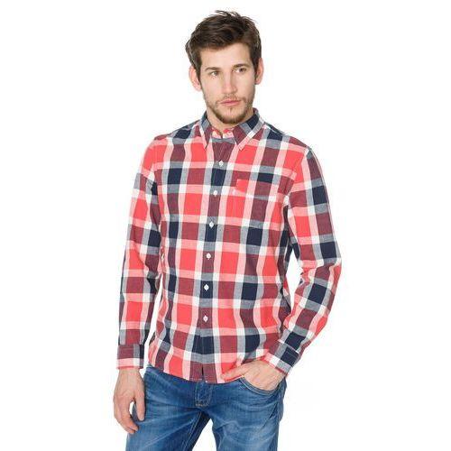 koszula niebieski czerwony l marki Levi's