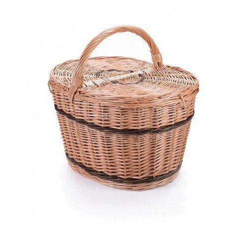 Wyroby z wikliny pph jan wnuk Wiklinowy kosz piknikowy owalny, na piknik