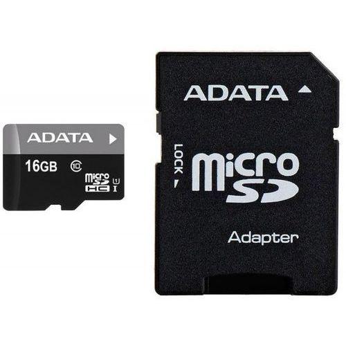 Karta pamięci ADATA microSD Premier 16GB + Zamów z DOSTAWĄ JUTRO!