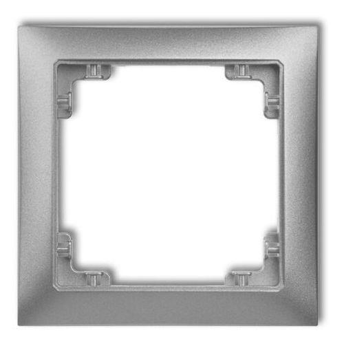 Karlik Deco ramka uniwersalna pojedyncza z tworzywa deco soft 11drso-1 (5901832008248)