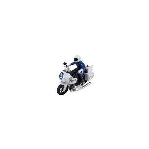 Motocykl ścigacz z policjantem - OKAZJE
