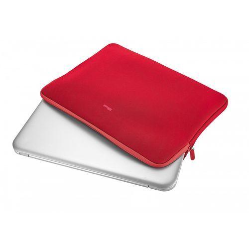 """Etui na notebooka Trust Uniwersalne 17.3"""" Czerwone (21247) Szybka dostawa! Darmowy odbiór w 20 miastach!, 21247"""