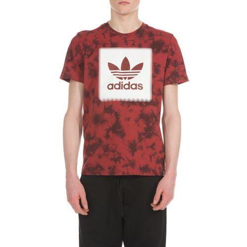 adidas Originals Blackbird Logo Remix Graphic Koszulka Czerwony L (4057286127491)