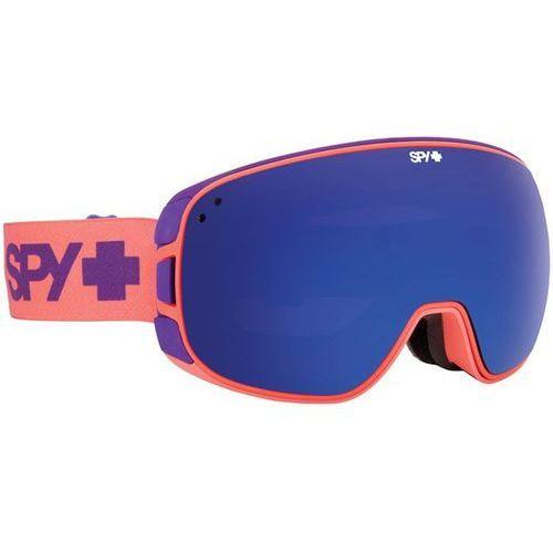 Spy Gogle snowboardowe - bravo purple fade bro/drk (bro drk) rozmiar: os