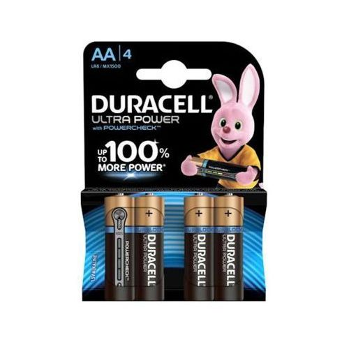 Duracell Baterie ultra power aa 4szt.