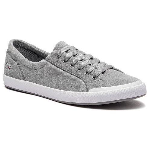 Tenisówki LACOSTE - Lancelle Sneaker 318 3 Caw 7-36CAW00282Q5 Lt Gry/Wht, kolor szary