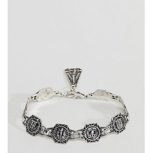 inspired chunky chain bracelet in burnished silver exclusive to asos - gold marki Reclaimed vintage