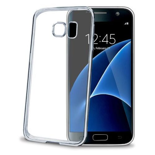 Celly Etui  bumper bclgs7sv do galaxy s7 srebrny (8021735717119)