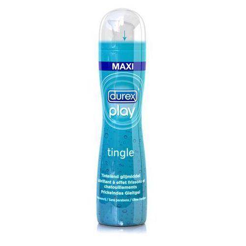 Stymulujący środek nawilżający - play tingle lubricant 100 ml marki Durex