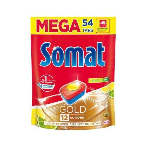 Somat Gold Lemon & Lime Tabletki do mycia naczyń w zmywarkach 1036,8 g (54 x 19,2 g) (9000101320732)