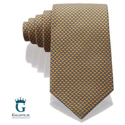 Złot włoski krawat jedwabny 14801/16 marki Arcuri