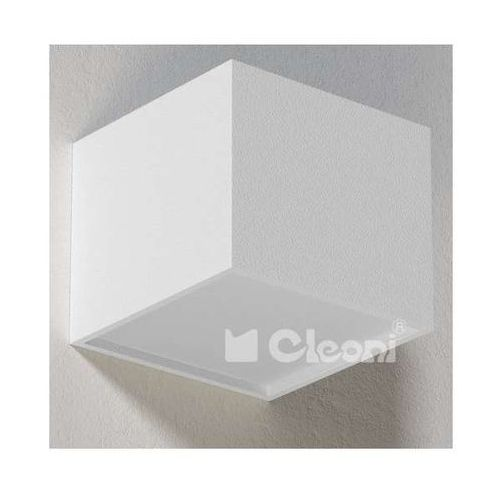 Cleoni Lampa ścienna ster t147z/d/b/w12/kolor/4000k minimalistyczna oprawa kostka led 16w kinkiet