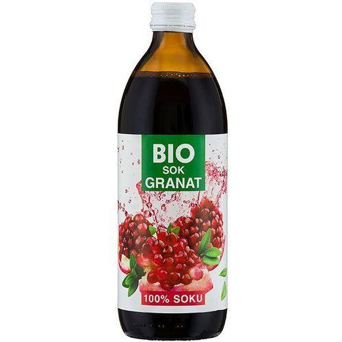 500ml sok z granatu bez cukru bio | darmowa dostawa od 150 zł!, marki Bioavena