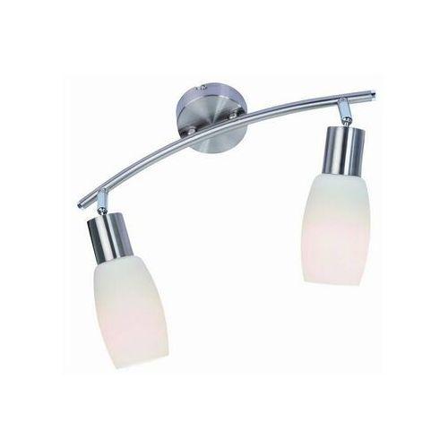 Listwa lampa sufitowa plafon namp 2x40w e14 nikiel mat 809902-07 marki Reality