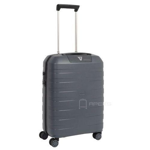 Roncato Box 2.0 mała walizka kabinowa 20/55 cm / Antracyt - antracyt