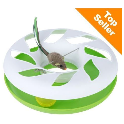 Zooplus exclusive Round about, karuzela dla kota - biało/zielony| darmowa dostawa od 89 zł i super promocje od zooplus! (4054651660799)