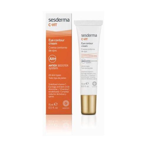 Sesderma c-vit regenerujący krem pod oczy z witaminą c c-vit eye contour cream - 15 ml atrakcyjne próbki (8429979424464)