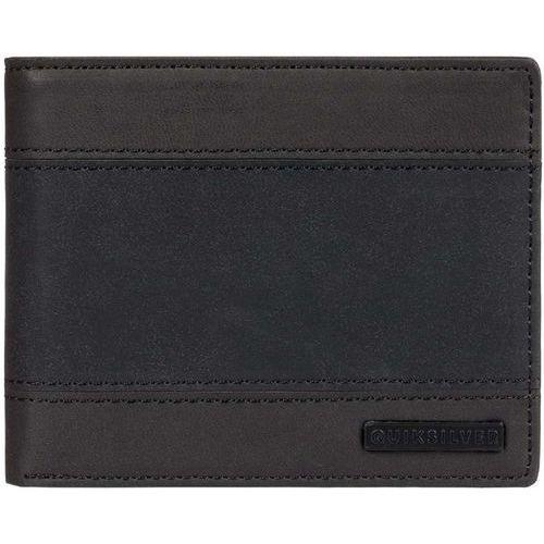 portfel QUIKSILVER - Supply Slim Trifold Ii Black Black (KVJ0) rozmiar: OS