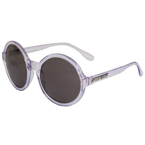 okulary słoneczne SANTA CRUZ - Crystal Sunglasses Lilac Crystal (LILAC CRYSTAL), kolor żółty