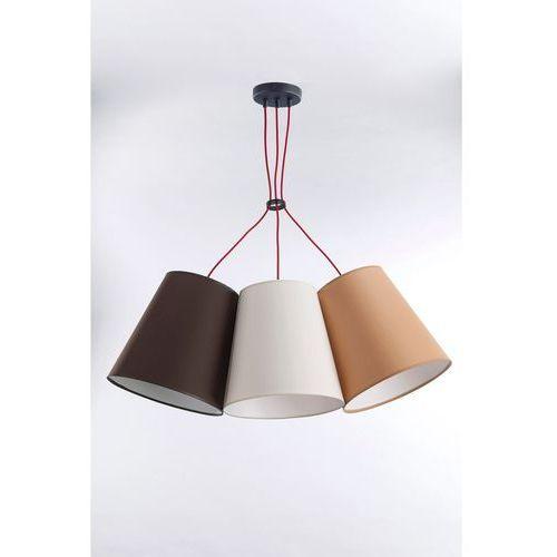 Lampa Wisząca NECAR 3 nr 3217, kolor Czarny