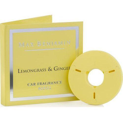 Max benjamin Wkład do odświeżacza do samochodu lemongrass & ginger