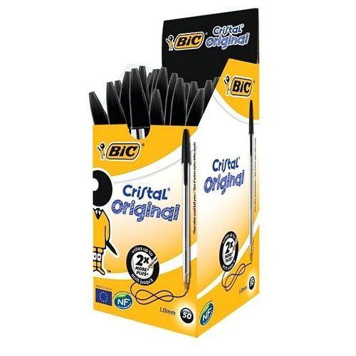 Długopis cristal czarny 1mm 847897 marki Bic