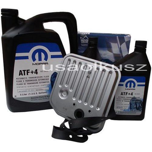Olej atf+4 6,89l oraz filtr skrzyni biegów dodge dakota 1998-2003 marki Mopar