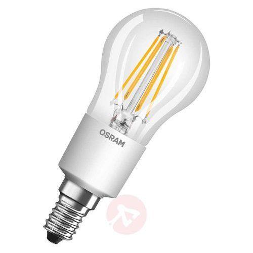 Żarówka LED OSRAM 4052899962330, E14, 4.5 W = 40 W, 470 lm, 2700 K, ciepła biel, 230 V, 20000 h, 1 szt.