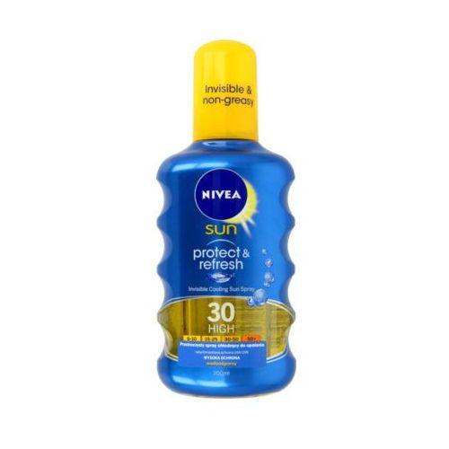 Nivea  200ml sun protect & refresh spray do opalania spf 30