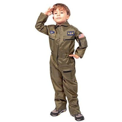 Pilot - Żołnierz - przebranie karnawałowe dla chłopca - rozmiar S z kategorii Pozostałe