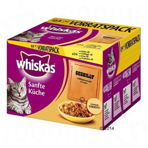 Whiskas Delikatne Dania (Sanfte Küche), 24 x 85 g - Grilowana specjalność z kategorii Karmy i przysmaki dla kotów