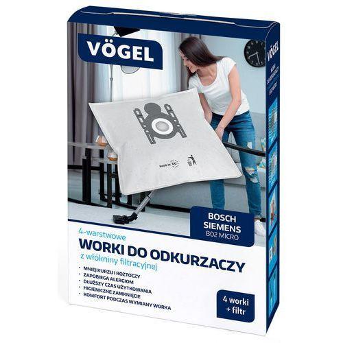 Vögel Worek do odkurzacza b02 micro (4 sztuki) (5902729062282)