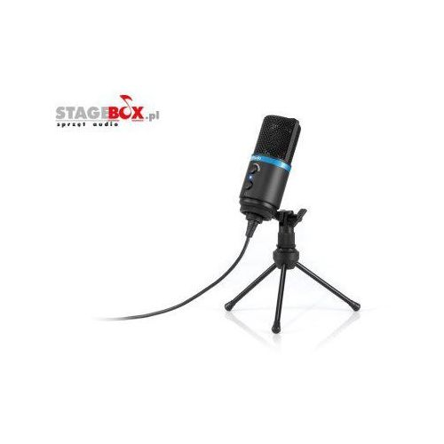 Ik multimedia irig mic studio black - mikrofon pojemnościowy