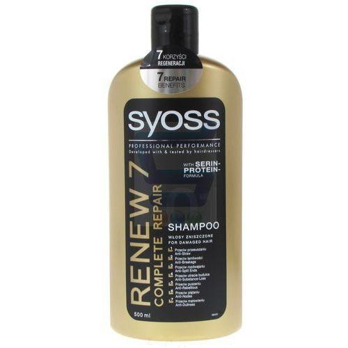 Syoss Schwarzkopf renew 7 szampon do włosów zniszczonych 500ml (9000100945028)