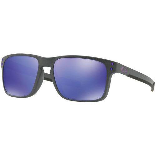 Oakley holbrook mix okulary rowerowe niebieski/czarny 2018 okulary przeciwsłoneczne